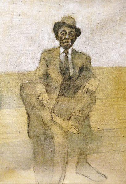 Mississippi John Hurt - acrylic on canvas