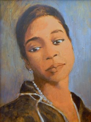 Bessie Smith - acrylic on paper