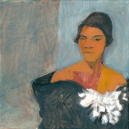 Marian Anderson - acrylic on canvas