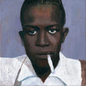 Robert Johnson - acrylic on canvas